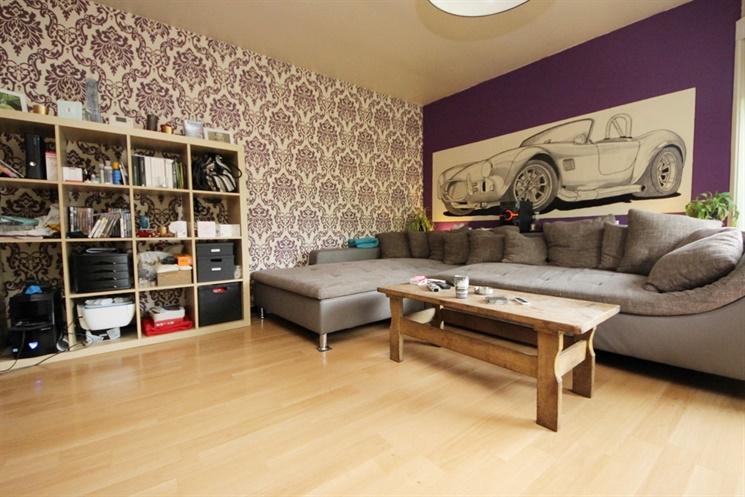 GENT - Aangenaam twee slaapkamer appartement in een groene en rustige omgeving in het centrum van Gent.