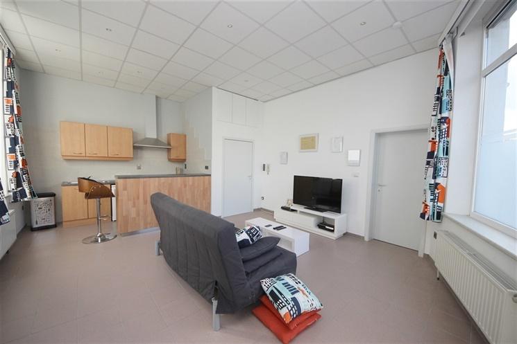 Lichtrijk één-slaapkamer appartement gelegen in het centrum van Gent