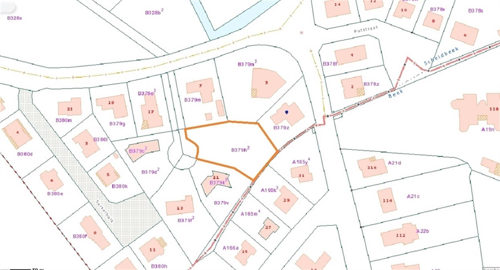 Perceel Bouwgrond te Sint-Denijs-Westrem op 1.392m²
