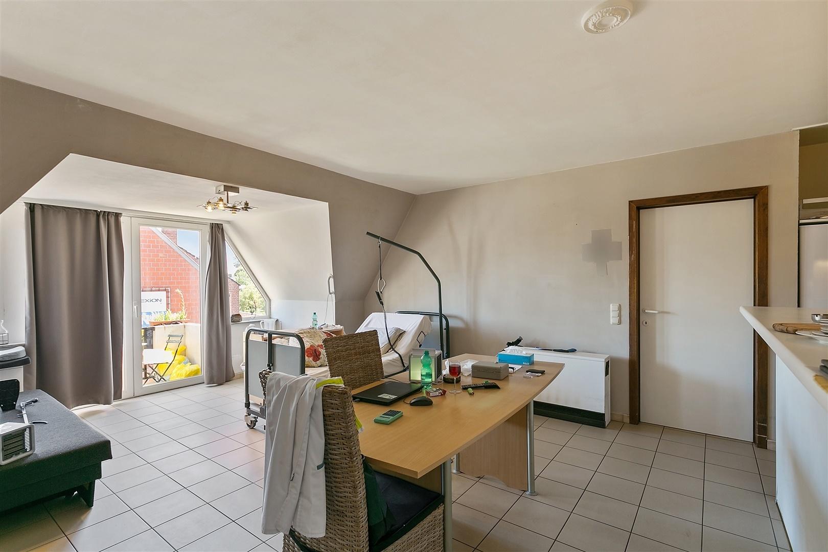 Aangenaam appartement tussen stadscentrum en station Tielt!
